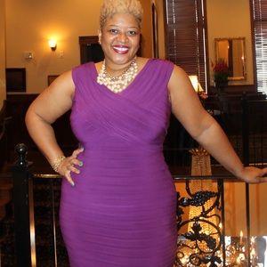 Dresses & Skirts - Purple Banded Dress